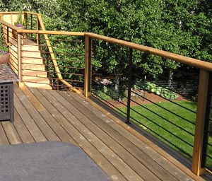 Outdoor Deck Railing Hood River