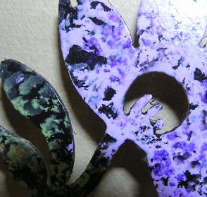Full Bloom purple closeup