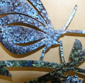 Springtime blue closeup