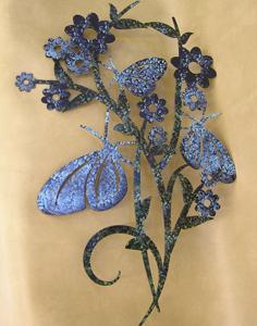 Springtime Spledor  blue