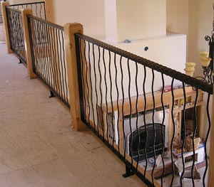 Fancy Metal Railing