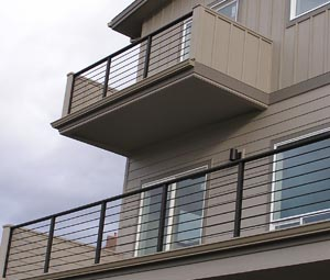 White Salmon Custom Deck Rail