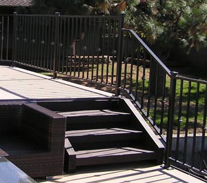 Custom Railing Deck White Salmon