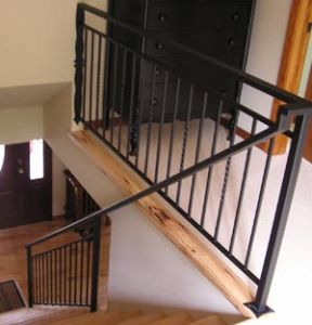 Metal Stair Rail Husum