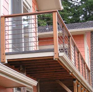 Upper Deck Railing