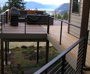 Custom roundstock railing WS