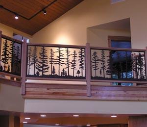Balcony Tree Panels-Snowden