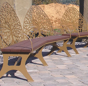 Custom Benches-Trout Lake Abbey