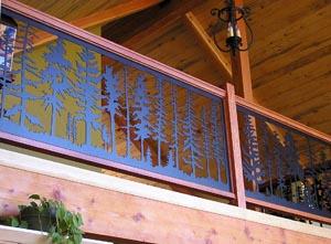 Fir Balcony Panel