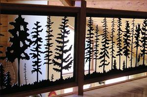 Fir Tree Panel