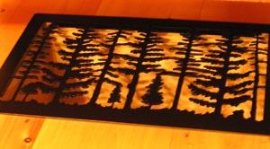 Heat Register Vent Cover
