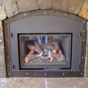 Fireplace Door Enclosure