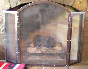 Standing Fireplace Screen, Columbia Gorge