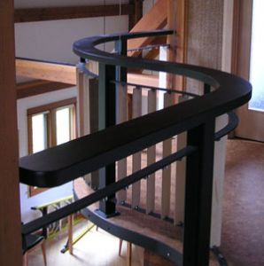 Custom Curved Hand Rail