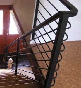 Indoor Custom Stair Rail
