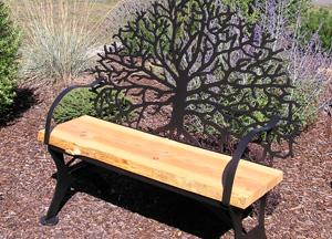 Oak Tree Bench