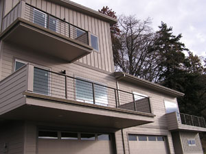 Condo Deck Railings White Salmon