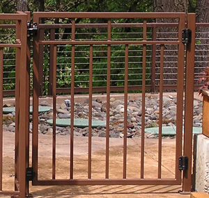 Custom Patio Gate