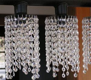 Custom Metal and Crystal Chandelier