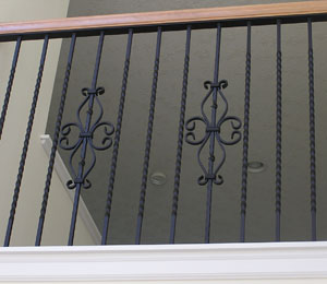 Custom Metal Railing Hood River