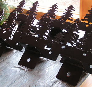 Fir Tree Timber Brackets