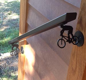 Custom Mountain Bike Hand Rail